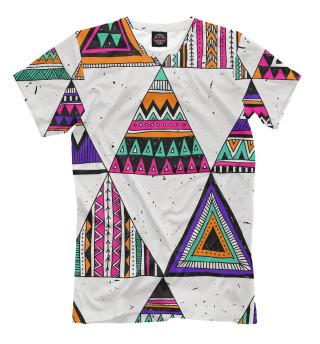 Женская футболка Индейские мотивы