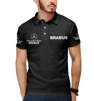 Мужское поло Ф1 - Mercedes