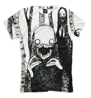 Мужская футболка Хоррор