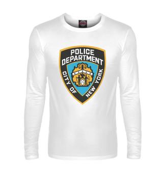 Мужской лонгслив New York City Police Department