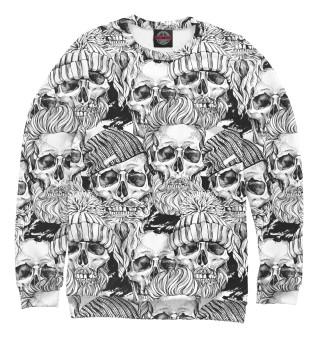 Мужской свитшот Human skulls