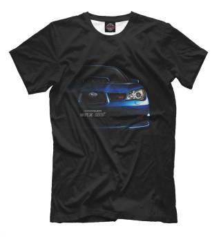 Мужская футболка Subaru