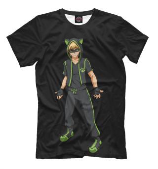 Мужская футболка Cat Noir