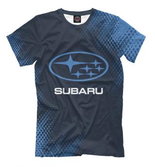Мужская футболка Subaru / Субару