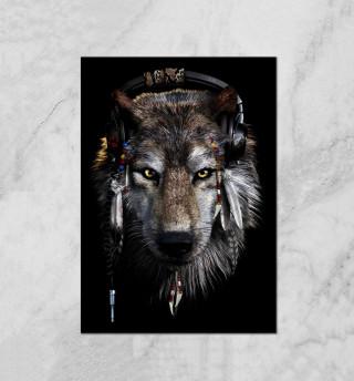 Волк в наушниках
