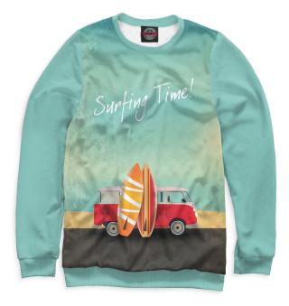 Мужской свитшот Surfing Time!