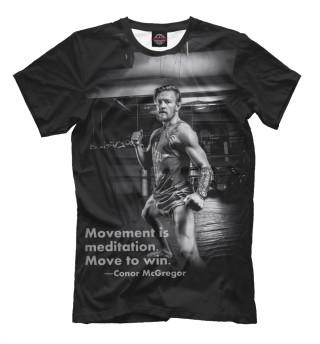 Мужская футболка Conor Anthony McGregor