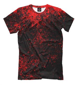 Мужская футболка Брызги красок