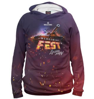 Мужское худи Wargaming Fest '18