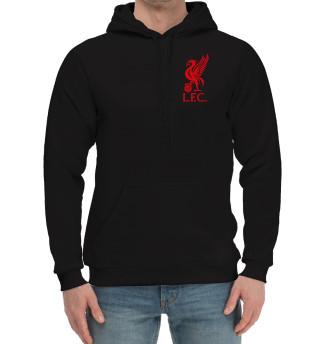 Мужской хлопковый худи Liverpool