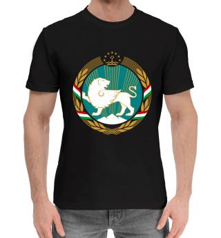 Мужская хлопковая футболка Tajikistan light
