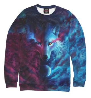 Мужской свитшот Space Wolf