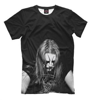 Мужская футболка Black Metal Ist Krieg