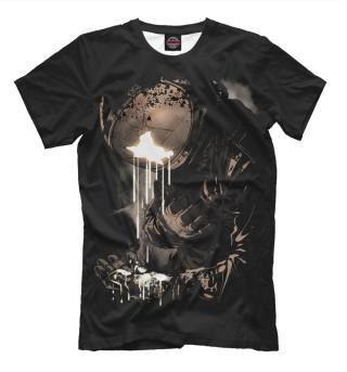 Мужская футболка Космонавт