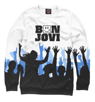 Женский свитшот Bon Jovi