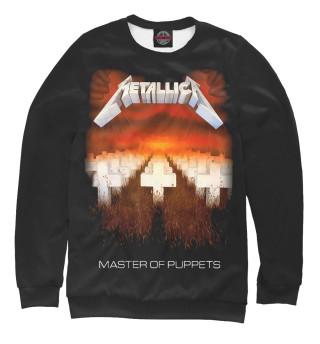 Мужской свитшот Metallica Master of Puppets
