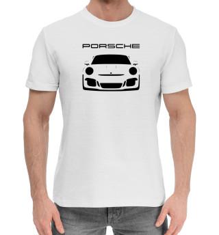 Мужская хлопковая футболка Porsche