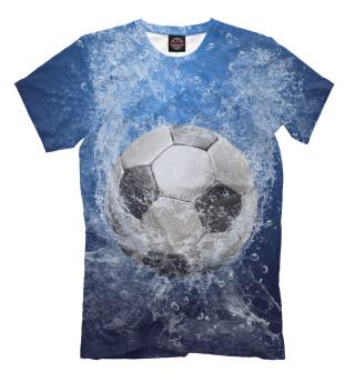 Мужская футболка Взрывной мяч