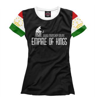 Женская футболка Tajik culture