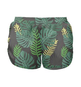 Женские шорты Листья