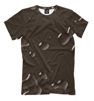 Мужская футболка Капли
