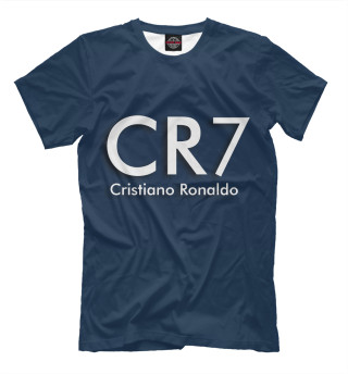 Мужская футболка Cristiano Ronaldo CR7
