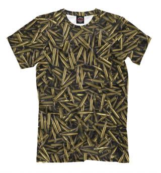 Мужская футболка Патроны АК-47