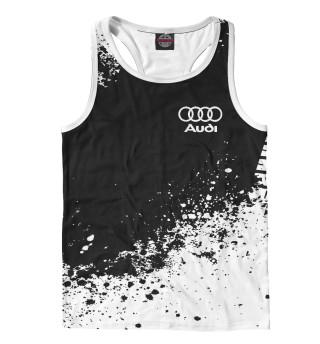 Мужская майка-борцовка Audi abstract sport uniform
