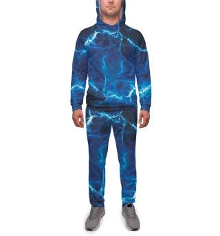 Мужской спортивный костюм Молния