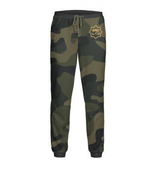 Мужские спортивные штаны Чечня Ахмат Камуфляж