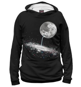 Луна и Млечный Путь