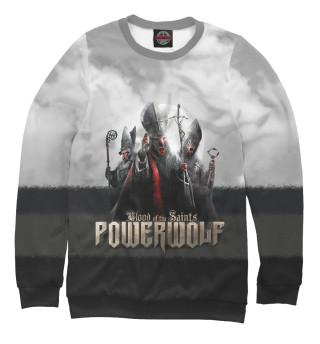 Мужской свитшот Powerwolf - Blood Of The Saints