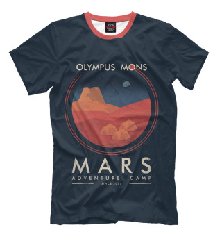 Мужская футболка Mars Adventure Camp