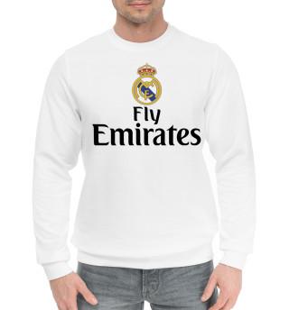 Мужской хлопковый свитшот Форма Реал Мадрид
