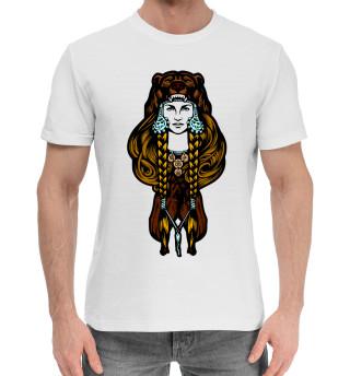 Мужская хлопковая футболка Ведунья