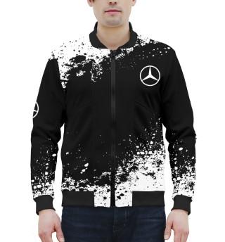 Мужской бомбер Mercedes-Benz abstract sport uniform