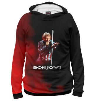 Женское худи Bon Jovi