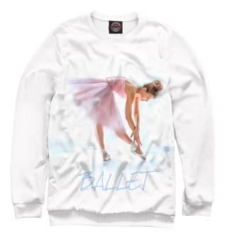 Свитшот для девочек Балерина