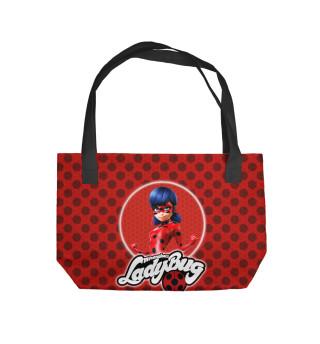 Пляжная сумка Леди Баг и Супер-Кот