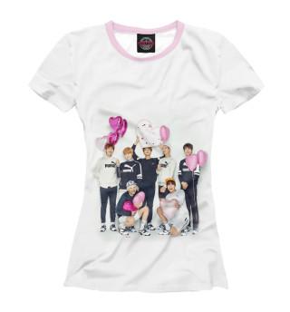 Женская футболка BTS