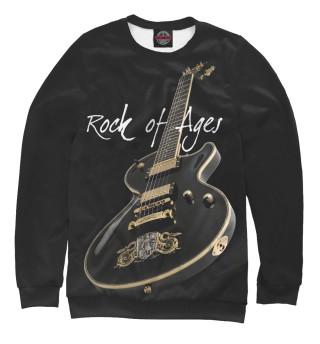 Мужской свитшот Рок гитара