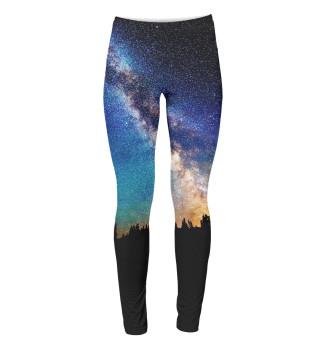 Леггинсы Звездное небо
