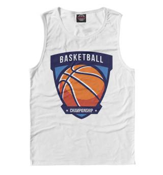 Майка для мальчика Баскетбол