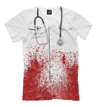 Мужская футболка bloody doctor