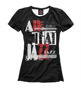 Женская футболка JAZZ