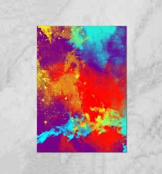 Потертость красок