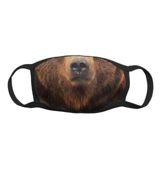 Маска тканевая Медведь