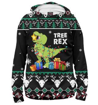 Мужское худи Tree Rex