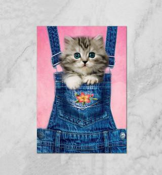 Котенок в кармашке