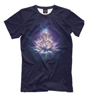 Мужская футболка Лотос